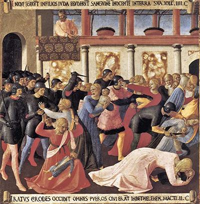 Fra Angelico,  Massacre dos Inocentes , 1451-2