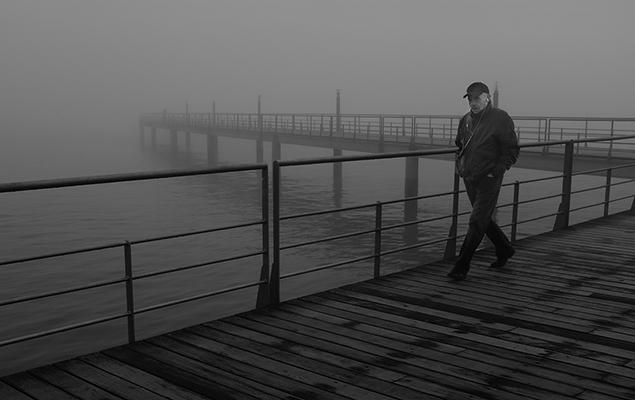 Luís Barreira  nevoeiro no parque, 2018  série: no parque  Fotografia  arquivo: 2018_11_30_DSCF0849