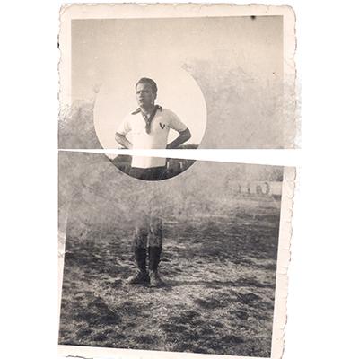 Luís Barreira (Pai)  Vidago F C  Local: Murça, 1952  série: art portraits
