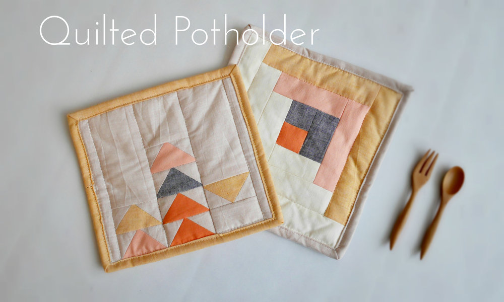 Kitchen Diy Quilted Potholder The Point Of Interest