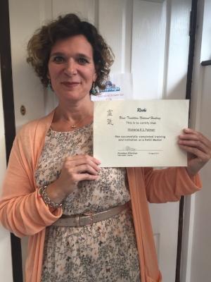 Victoria K L Palmer - Credited Reiki Master Practioner and Reiki Master Teacher