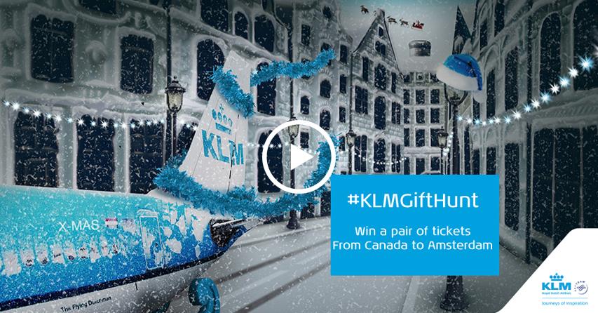 KLM Gift Hunt Video - Xmas 2015