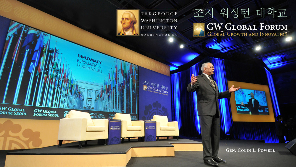 VIEW GWU KOREA BRAND BOARD