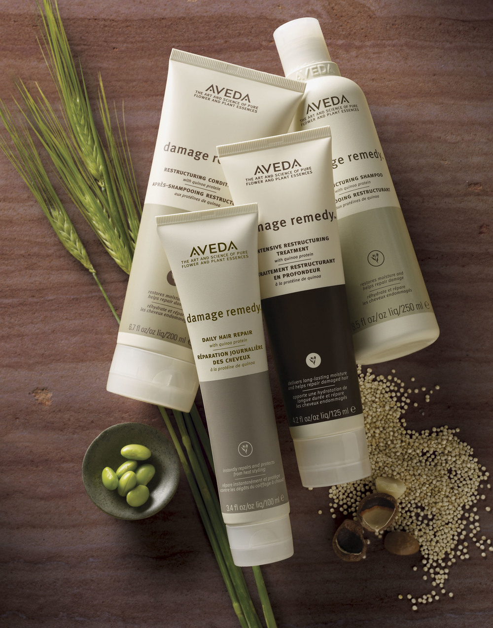 Our mission at Aveda is to care for the world we live in, from the products we make to the ways in which we give back to society. At Aveda, we strive to set an example for environmental leadership and responsibility--not just in the world of beauty, but around the world.  The art and science of pure flower and plant essences is the core of Aveda. Our beauty products are alive with the life force of plants, and contain pure essential oils. Our solutions are so powerful we call them Purescriptions™. While we specialize in hair care, we offer other plant-based products—skin care, makeup, pure-fume™, aromas and lifestyle—that are all professionally developed, clinically tested, and go to exceptional lengths to be respectful of the earth. Ever since a hairdresser founded Aveda in 1978, our products have been harvested with respect for the earth, in harmony with the web of life.