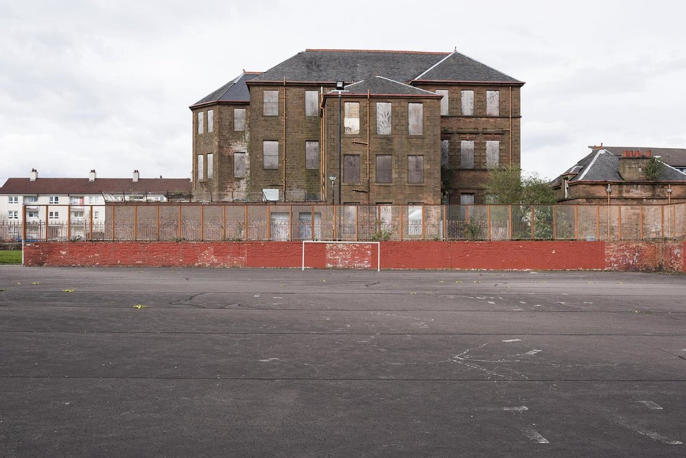 29.04.16 Glaswegian Schoolhouse , 2016, archival photographic print, 97 x 71 cm