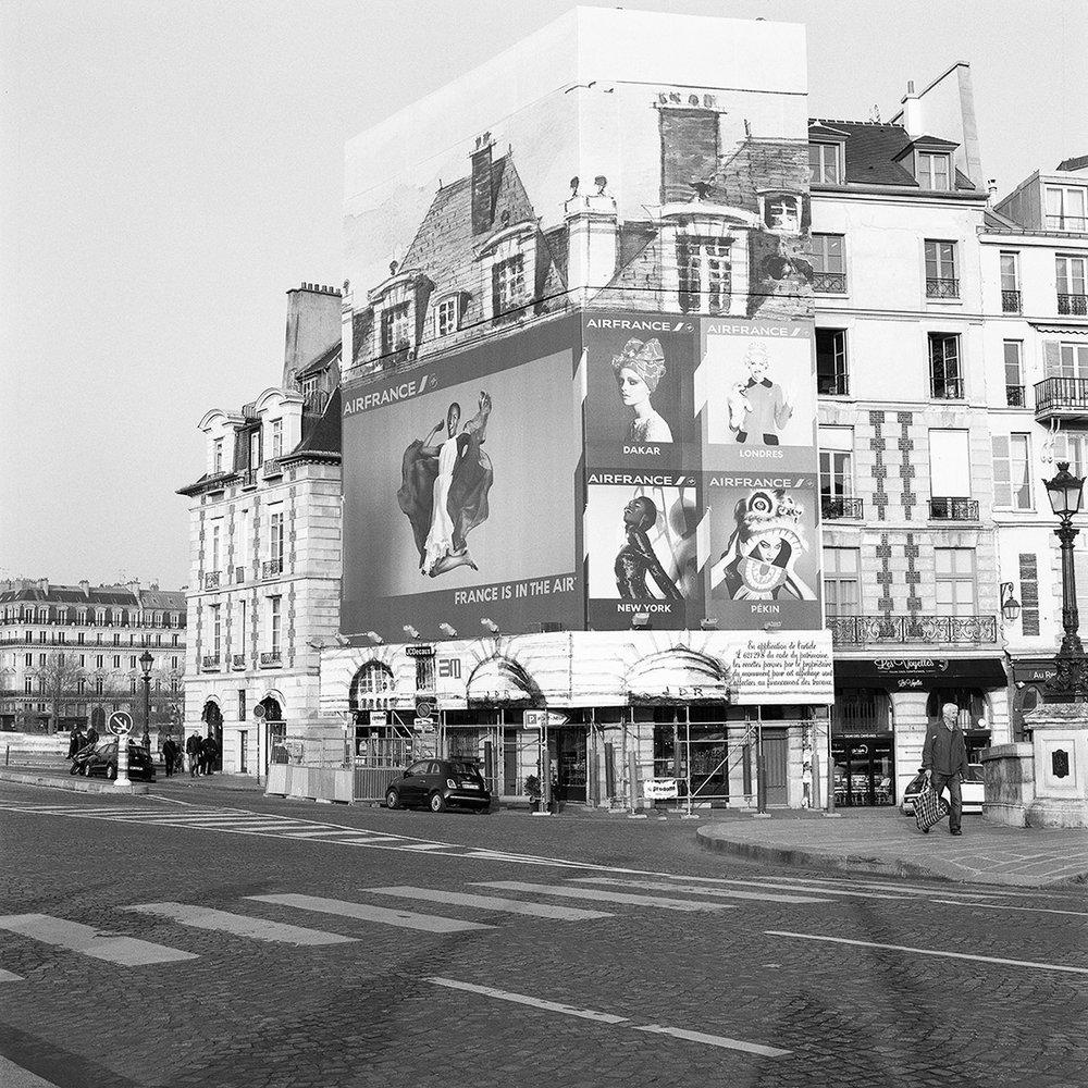 18.03.16   Pont Neuf , 2016 Archival photographic print  32 x 32 cm