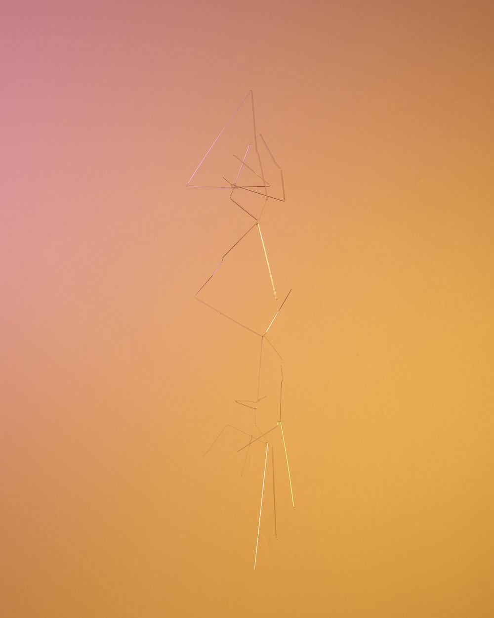 """Glass Drawing XIX , 2018, archival pigment inkjet print 12"""" x 15"""""""
