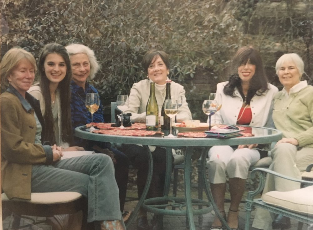 My fifteenth birthday with five of my aunties. The two sitting next to me have since passed away, which is something that is both hard to wrap my mind around and grounds me -- in the impermanence of life and the gratitude I have for each of them.