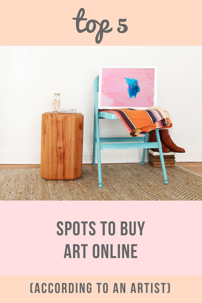 top 5 places to buy art online