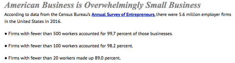 Small businesses make up 89 percnet of businesses.png