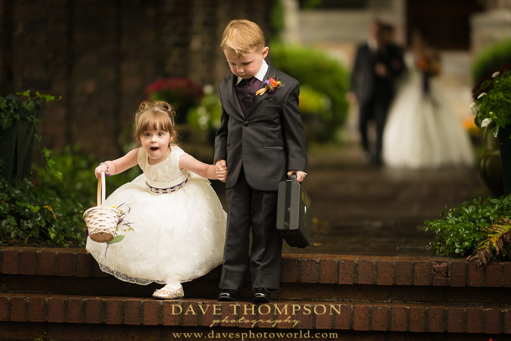 Cute Flower Girl & Ring Bearer