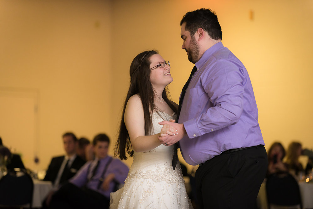 Wonderful moment - first dance together as Mr. & Mrs.!