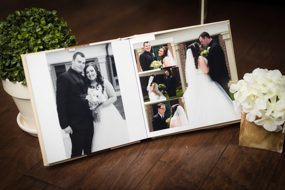 Wedding Album Page Spread Layout