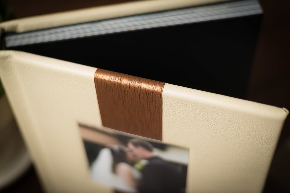 Leather Custom Wedding Album