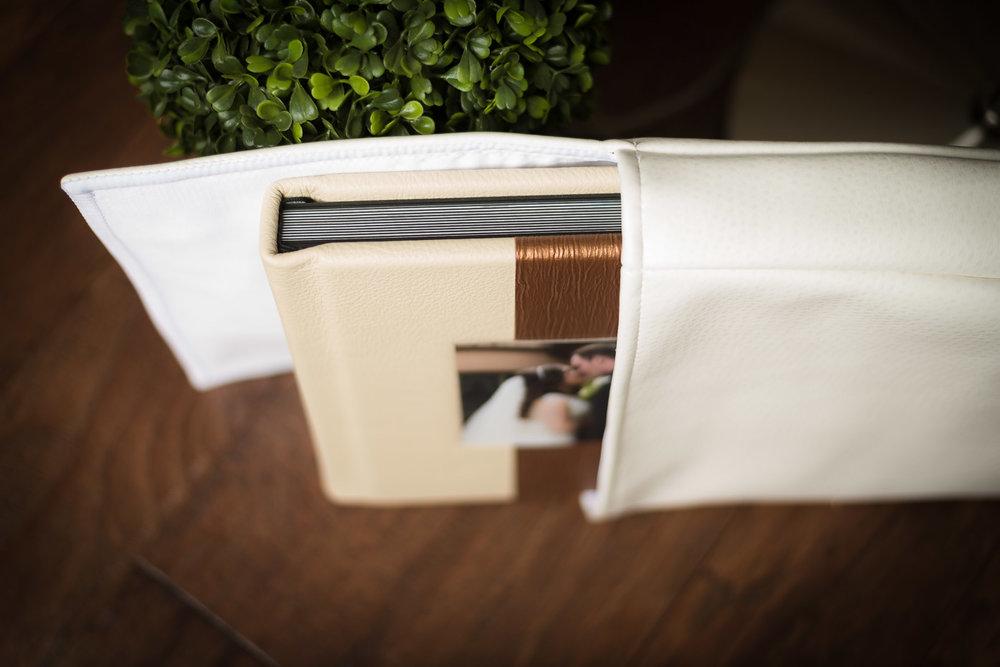 Leather Custom Wedding Album