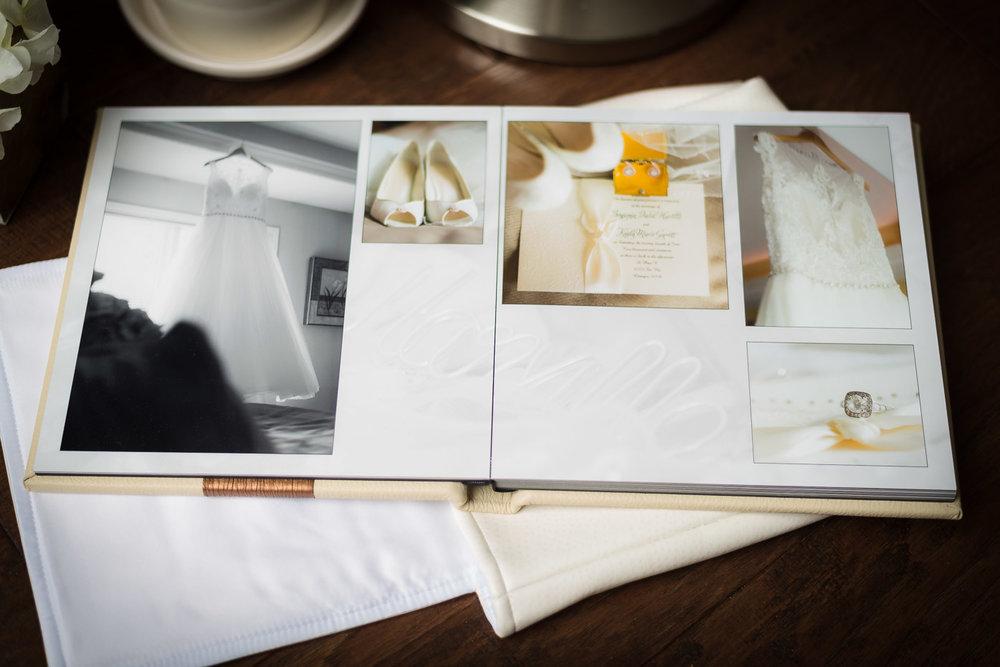 Wedding Album Page Spread Layout