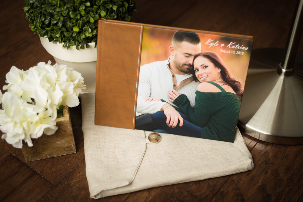 Copy of Guest Sign In Album with Engagement Photos