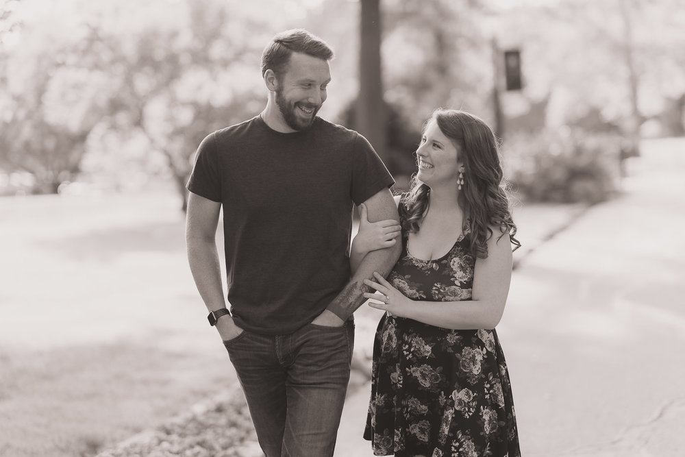Engagement Session Smiles