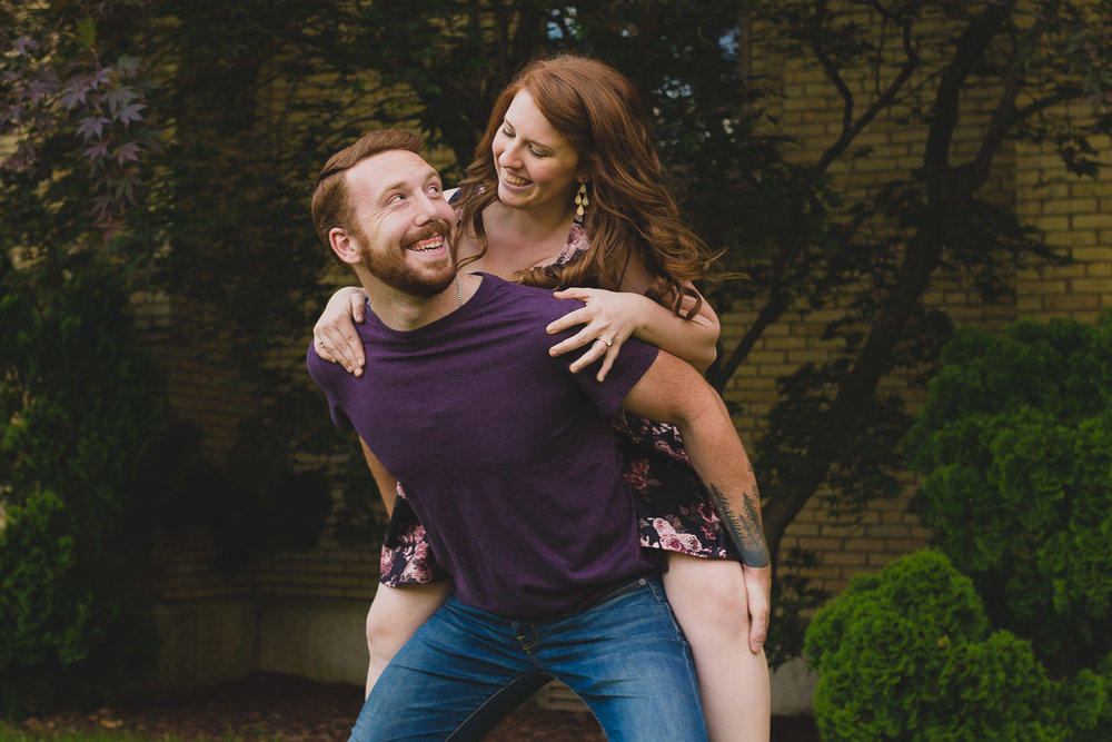 Engagement Photos Fun
