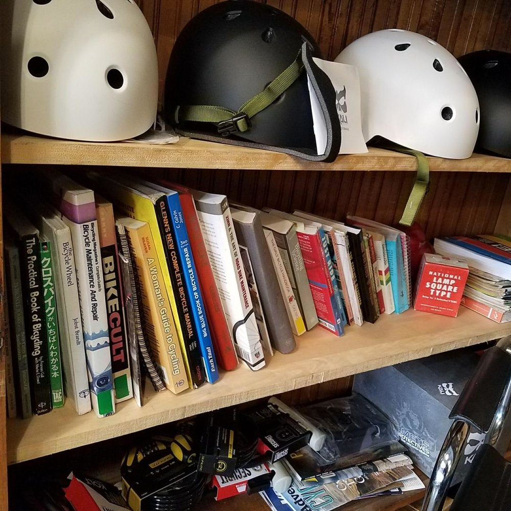 Keeping the Bike Book Lending Library