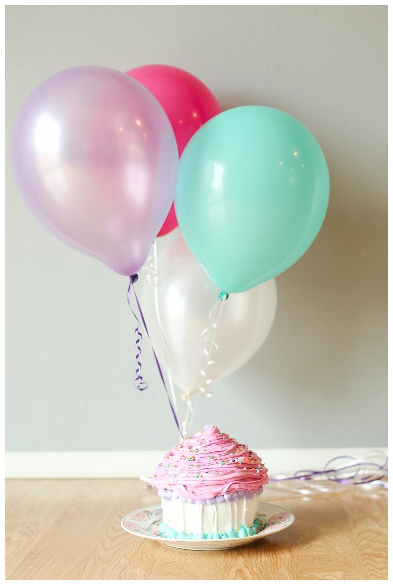 First Birthday | Cake Smash Session | Wilton Giant Cupcake Pan | Marietta Family Photographer
