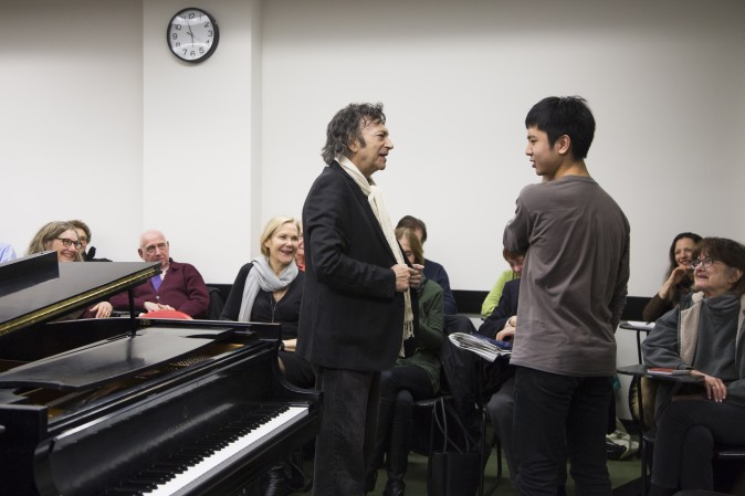 The Juilliard class. More photos and recent article about Dubal here.