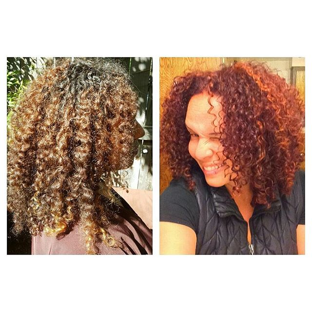 I dig coloring a head of curls!  Red on copper red.  Finished with twist curl creme and motorcycle gel by @randcohair. Hair by Todd Sterling Brown @toddsterlingbrn  #curlyhair #hair #haircolor #beauty #red #redhead #toddsterlingbrn @toddsterlingbrn #like4like #follow4follow #asalonofstudiocity