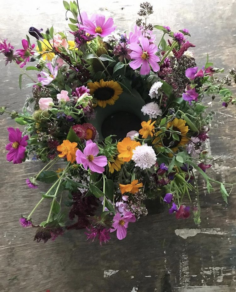 A design created by Holly Chapple from Hope flowers