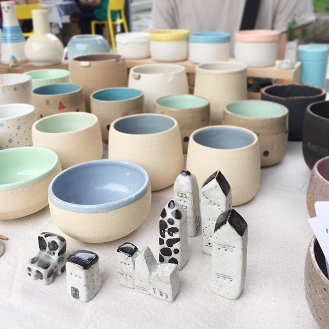 We are all set up with @weekendworker @felixphang @mervyquackpottery!  SUPERMAMA Design Mart  47 Malan Road 12pm - 8pm