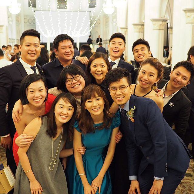 Saturday with the most wonderful group of people. Blessed Marriage!  #chinie