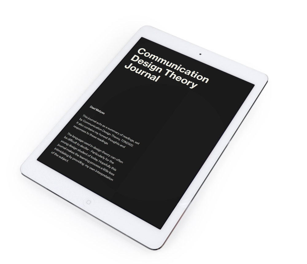 Communication Design Journal