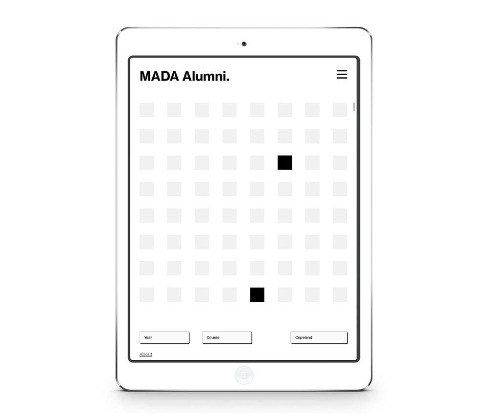 MADA Alumni Website