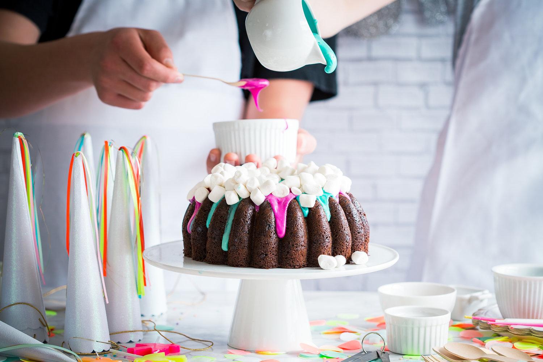 Flourless Chocolate Espresso Birthday Bundt Cake Paleo Brooke Lark