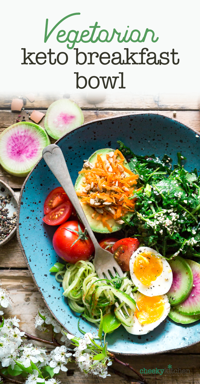 Keto Vegetarian Breakfast Bowl Brooke Lark