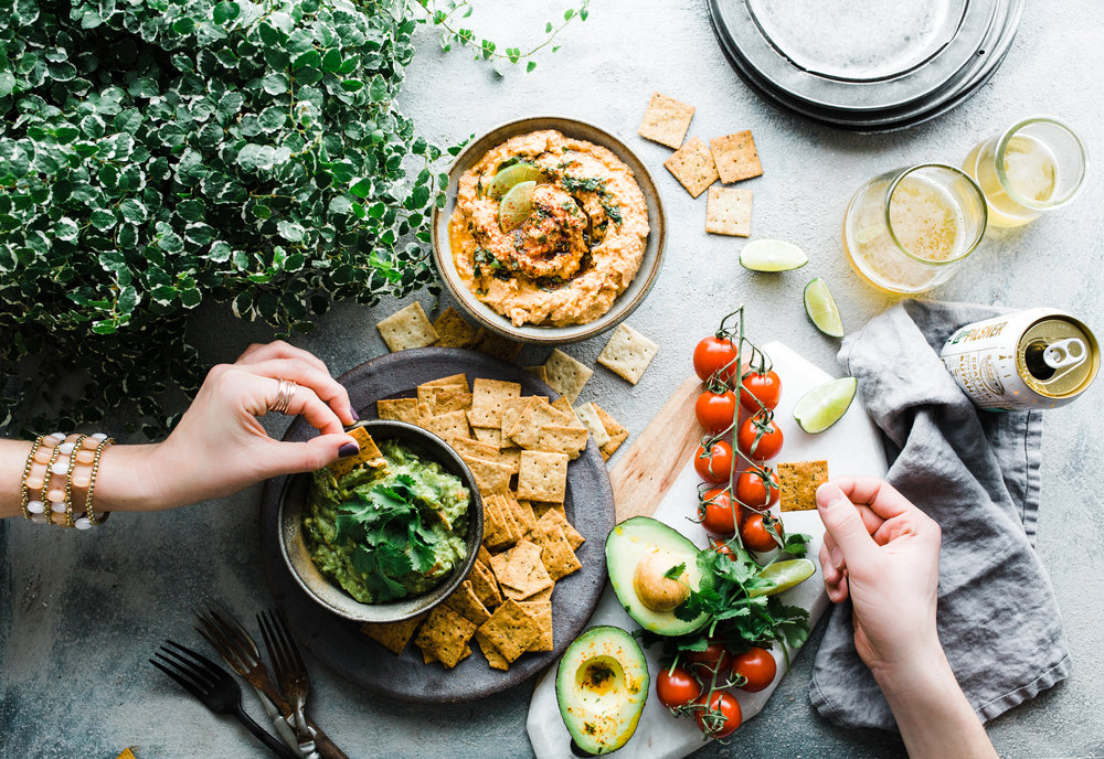 Chipotle Honey Cauliflower Hummus (Paleo)