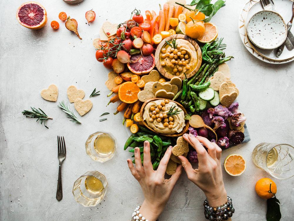 2019-01 BRM Homemade Paleo Rosemary Crackers with Cassava and Rainbow Veggie Platter 26.jpg