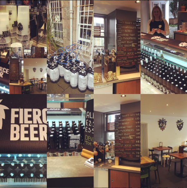 Pop up Bar - Fierce Beer