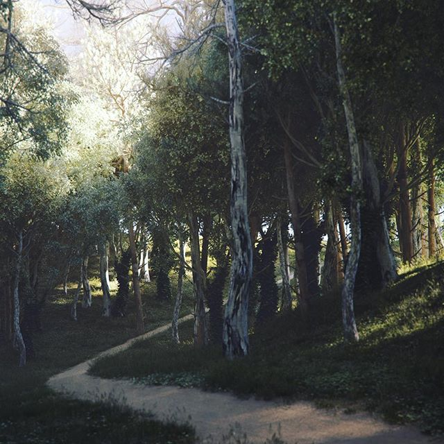 #nature #3d #forest #rendering #followme #instamood #photooftheday