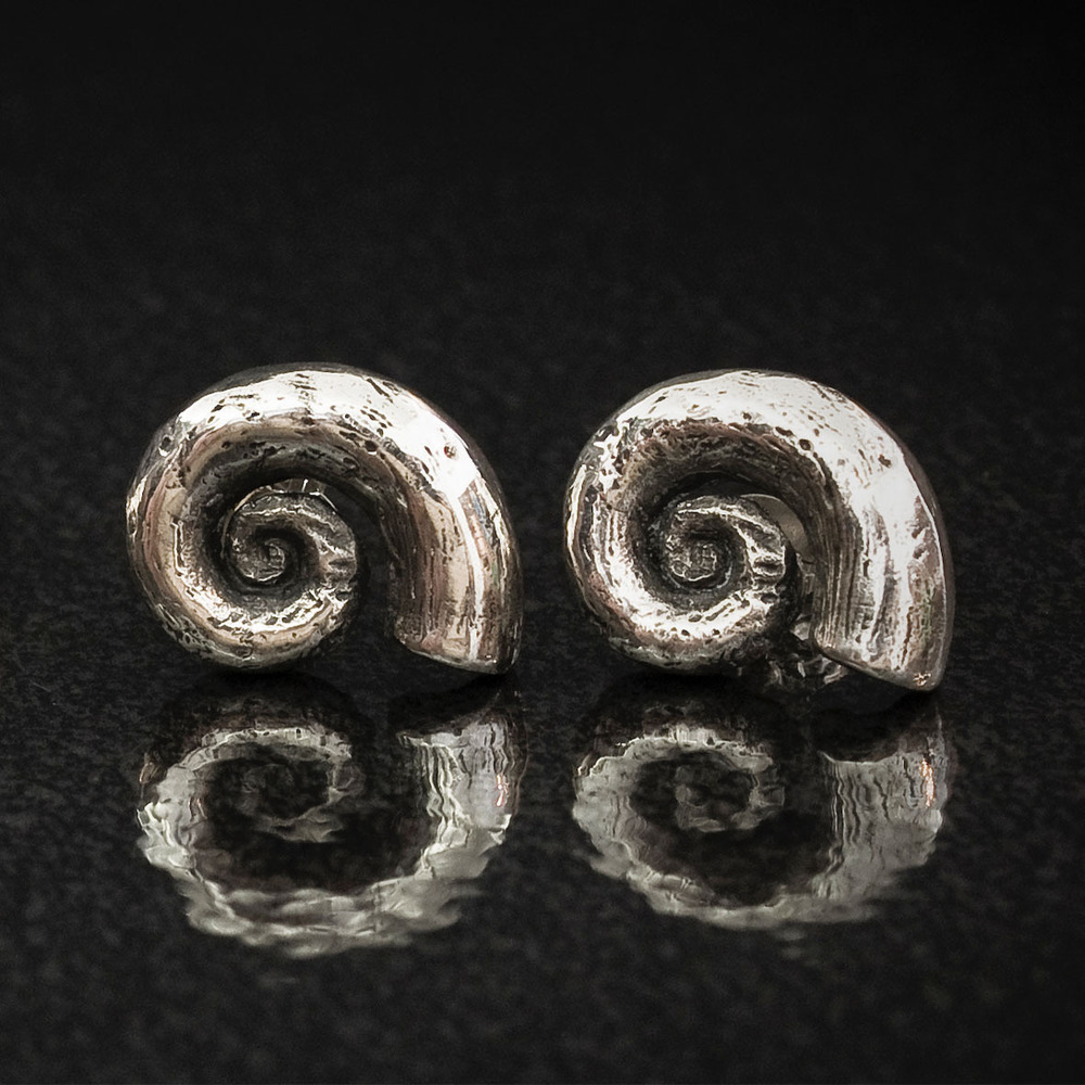 Spirula Shell Earrings