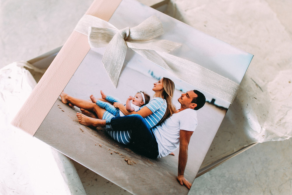 Album / folio boxes starts from $850 - Our bespoke finest handcrafted albums are truly an heirloom family keepsakes that will be treasured and passed down from generation to generation. We work closely with Australia's number 1 photography lab to provide the best quality for our clients.
