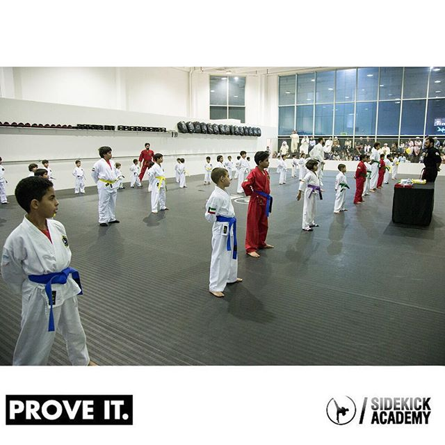 Sidekick Academy offers kids training programs 6 days/ week for ages 4-13.  Visit us or call 22282135 between 2:00-10:00 pm for more information.  #sidekickacademy #bringit #kuwait #martialarts #jiujitsu #bjj #taekwondo #tkd #mma #health #fitness #sport #training #instaq8 #zerocompetition #proveit