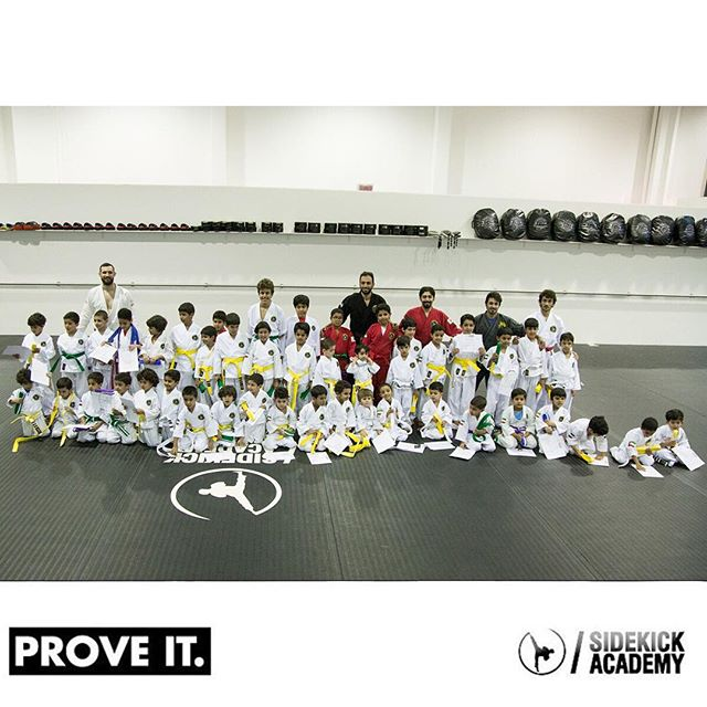 Join the best kids program in Kuwait.  Sidekick Academy offers kids training programs 6 days/ week for ages 4-13.  Visit us or call 22282135 between 2:00-10:00 pm for more information.  #sidekickacademy #bringit #kuwait #martialarts #jiujitsu #bjj #taekwondo #tkd #mma #health #fitness #sport #training #instaq8 #zerocompetition #proveit