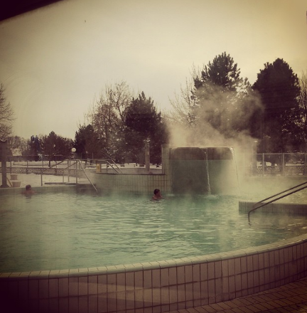 Mikroorganizm pool at  Terme Lendava