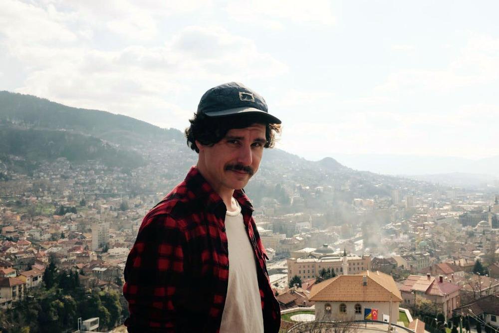 Me in Sarajevo, Bosnia