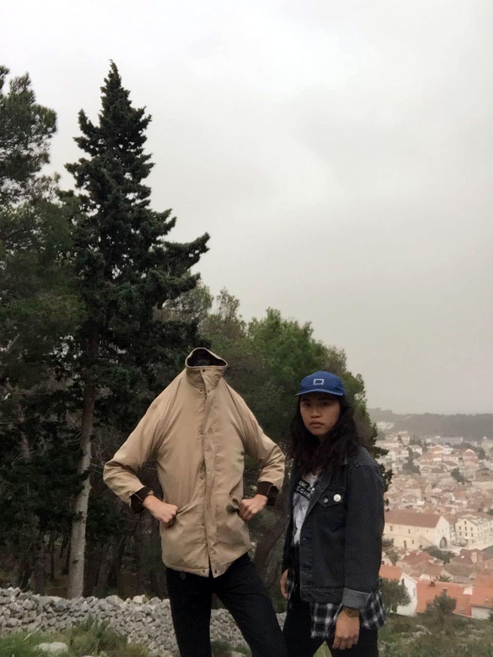Tiff and I, Split, Croatia