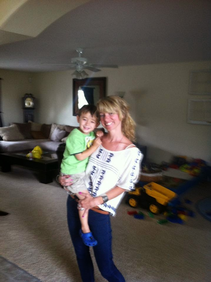 Hanging with my nephew, Carter (2012) #adore
