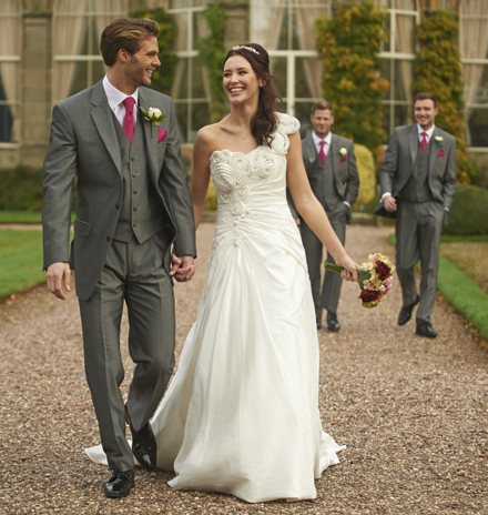 grey wedding suit for hire in canterbury suit hire canterbury