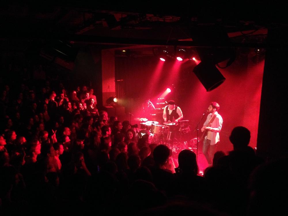Concert de Broken Back à la Maroquinerie de Paris le 22 janvier 2016 - ©Sandrine Philippart