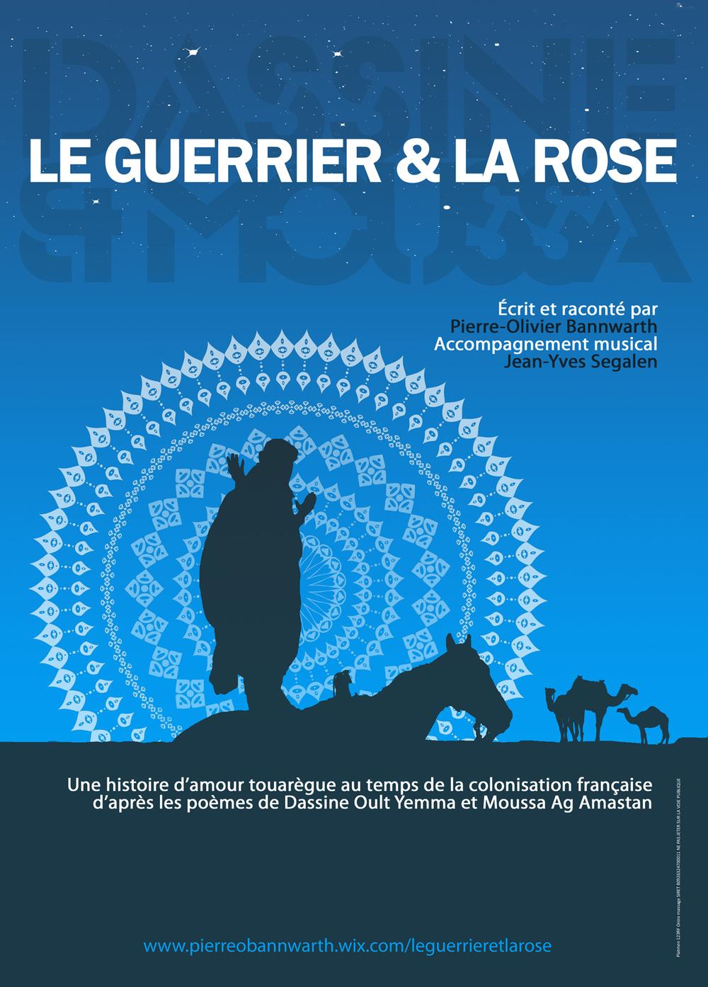 Affiche du conte le guerrier et la rose ©platmen 123RF