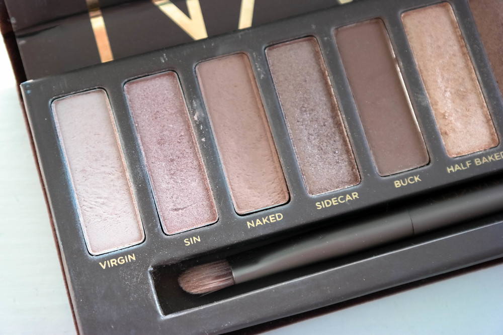 Current beauty favourites: Naked palette